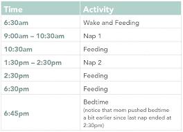 Nap Schedules 5 Months To 25 Months Taking Cara Babies