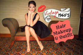 1960s mad men inspired hair makeup and outfit you