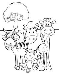 Free Wild Animal Coloring Pages And Wild Animal Coloring Page New