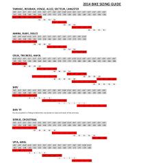 Stumpjumper 2019 Size Chart 18 Interpretive Specialised Shoe Size Chart