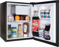 haier 2 7 cu ft refrigerator. haier hc17sf15rb - black front view in-use 2 7 cu ft refrigerator o