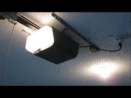 replacing garage door opener light socket and back panel