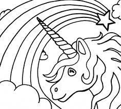 Unicorn Rainbow Coloring Pages Coloring Page Unicorn Rainbow Coloring Pages Printable Unicorn