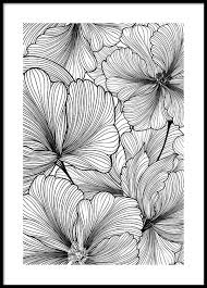 Floral Pattern Interesting Floral Pattern Poster