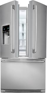 Door Counter Ei23bc37ss Electrolux Counter Depth French Door Refrigerator W
