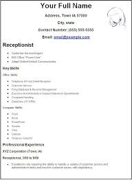 reception resume samples receptionist position resume sample will give  ideas and strategies to develop your own