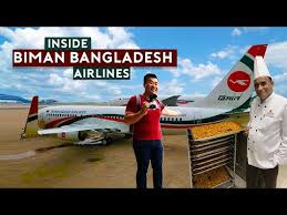 Inside Biman Bangladesh Airlines Youtube