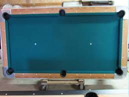 billiard pool table