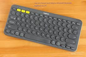 Microsoft Designer Keyboard Pairing How To Connect And Setup A Microsoft Bluetooth Keyboard On