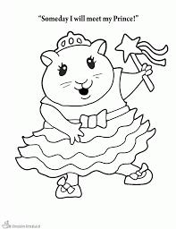Kleurplaten Hamster Kleurplaten Kleurplaatnl