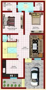 naksha 2545 duplex house plans