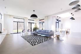 concrete flooring fall flooring trends perfoect with soft sisal rug