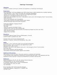 Radiologic Technologist Resume Templates Awesome 29 Unique Surgical