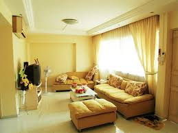 Interior Decorated Living Rooms Adorable Yellow Living Room 48 Bestpatogh