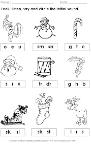 Free Tree Letter Matching A To M Great Winter And Christmas ...