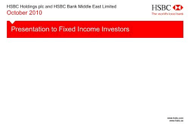 Hsbc Holdings Plc And Hsbc Bank Middle East Limited