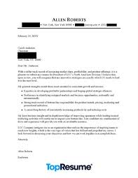 Sample Of A Professional Cover Letter Ceo Executive Cover Letter Example Professional Cover