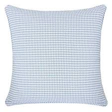 pillow case texture. Home Accent Pillows Homey Cozy Jacquard Cotton Throw Pillow Cover,Blue  Houndstooth Modern Silk Plaid Pillow Case Texture 8