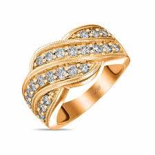 <b>Кольцо</b> c <b>бриллиантами</b>, артикул R4117-CRA-<b>19</b>-R, Золото 585 ...