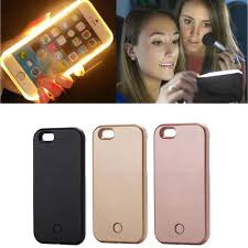 Light Up Selfie Phone Case Iphone 5c Hot Luxury Luminous Phone Case For Iphone 6 6s 7 Perfect Selfie Light Up Glowing Case Cover For Iphone 6s Plus Phone Bag