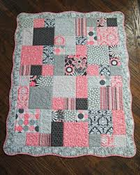 33 best Baby Girl Quilt Patterns images on Pinterest | Baby girl ... & Custom Baby Quilt, Made to Order, Beautiful Quality, Please read entire  listing for all information, Thanks Adamdwight.com