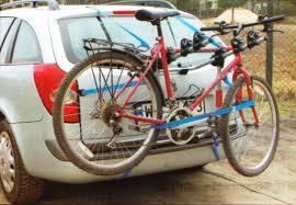 <b>Багажник</b> Amos Weekend для 3-х велосипедов на <b>заднюю</b> дверь ...