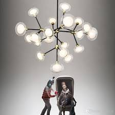 modern globe branching bubble chandelier ac110v 220v modern led chandelier light lighting high quality for pendant lamps with 429 69 piece on