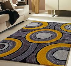 contemporary rug 110 yellow for designs 6