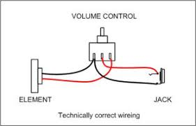 wiring volume pot wiring image wiring diagram lone wolf blues company technical mic volume control on wiring volume pot