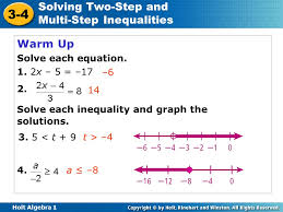 lesson 2 3 problem solving two step and multistep equations