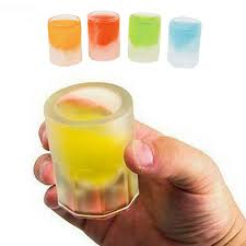 image result for shot glass ice mold