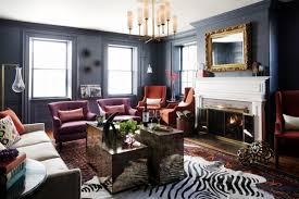 15 dramatic dark living room design