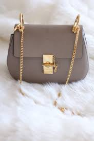 designer purse parties at home. new in: chloe drew bag in grey - size small colour: motty designer purse parties at home