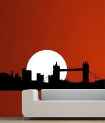 creative width london bridge wall decal