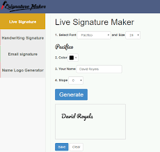Digital Signature Generator Tool Create A Free Email