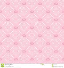 Roze Behang Als Achtergrond Voor Het Binnenland Vector Illustratie