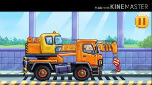 Game giải trí cho bé, xe máy xúc, xe cẩu, xe ben, xe tải - GIẢI TRÍ FCAF -  YouTube