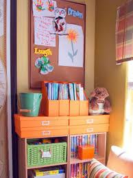 organized playroom media