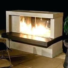 outdoor tabletop fireplace place indoor ethanol moda flame ibiza diy