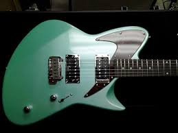 J Backlund Design Guitars Retronix R 800 From J Backlund Design In Surf Green