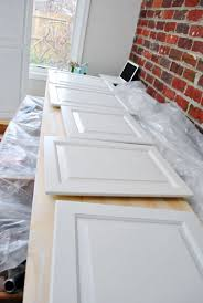 oak cabinets painted whiteNow We Wait  Young House Love