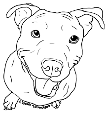 Pitbull Dog Face Images Ink In 2019 Pitbull Drawing Dog