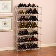 seville classics 168 bottle ultrazinc floor wine rack
