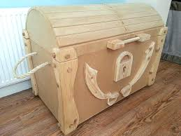 toy box kit wooden toy box kit pirate treasure chest wood kits wooden toy box kit