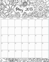 Blank Calendar Coloring Pages Amazing 2017 February Coloring Idea