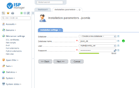 How to Install Joomla on ISPManager-based Server - ServerMom
