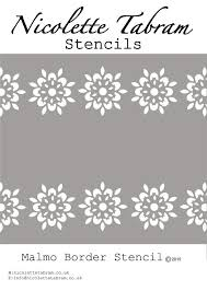 fabric projects moroccan stencil diy
