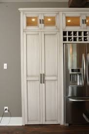 skinny double doors for the pantry