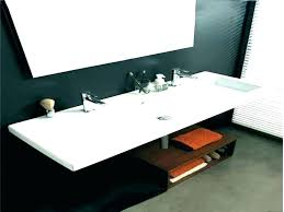 trough sink two faucets. Brilliant Two Large Bathroom Sink Double Trough Faucet Single Basin  Two Faucets And
