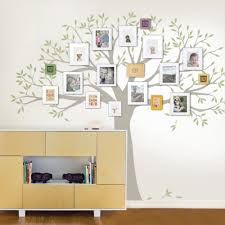 Small Picture Family Tree Decal Two Colors Wall Decals